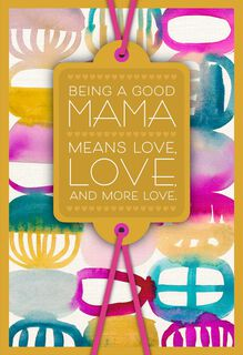 Love, Love and More Love Mother's Day Card From Family,