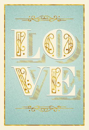 May Not Say It Enough, But I Feel It Love Card