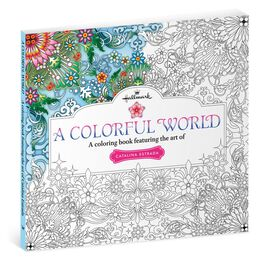 A Colorful World—A Coloring Book Featuring the Art of Catalina Estrada, , large