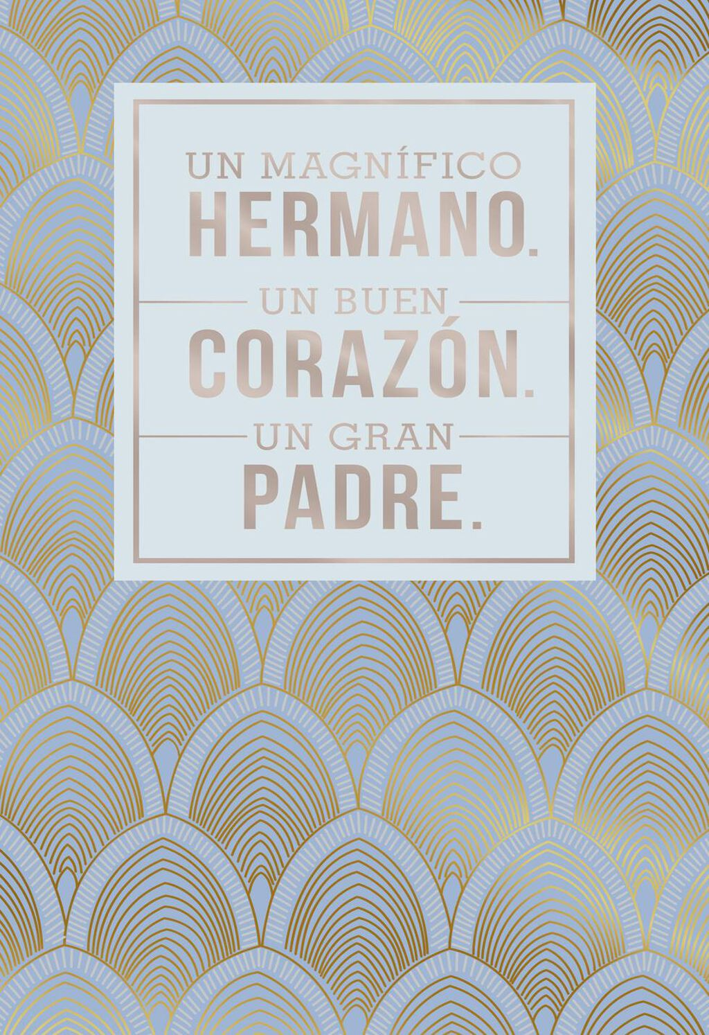 Youre Wonderful Spanish Language Fathers Day Card For Brother