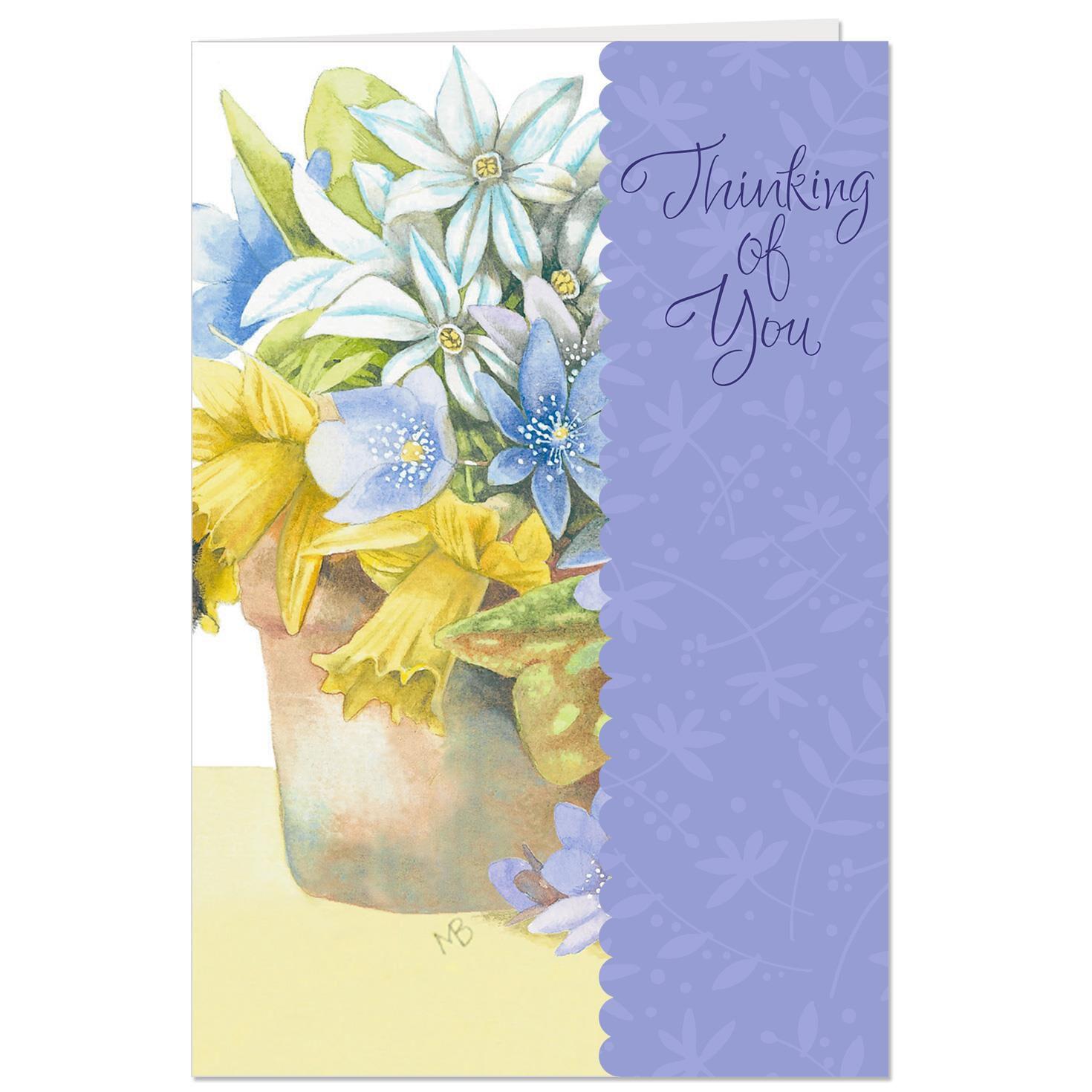 Marjolein bastin thinking of you flower bouquet easter card marjolein bastin thinking of you flower bouquet easter card greeting cards hallmark m4hsunfo