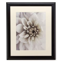 White Mum Photograph 20x24 Print With Matted Frame, , large