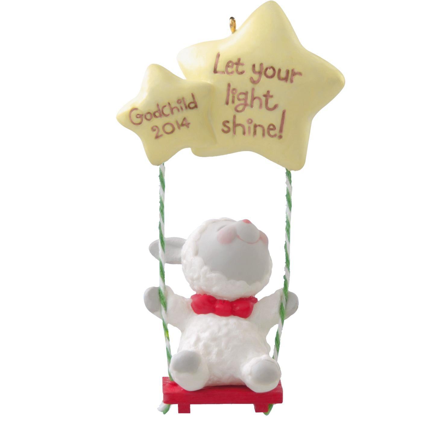 Godchild  Keepsake Ornaments  Hallmark
