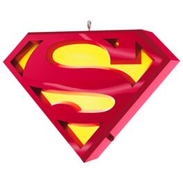 SUPERMAN™ A Symbol of Hope Musical Ornament With Light, , large
