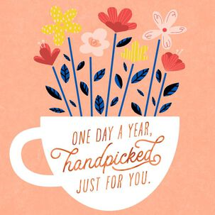 Handpicked for You Birthday Card