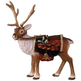 Father Christmas's Reindeer Ornament, , large
