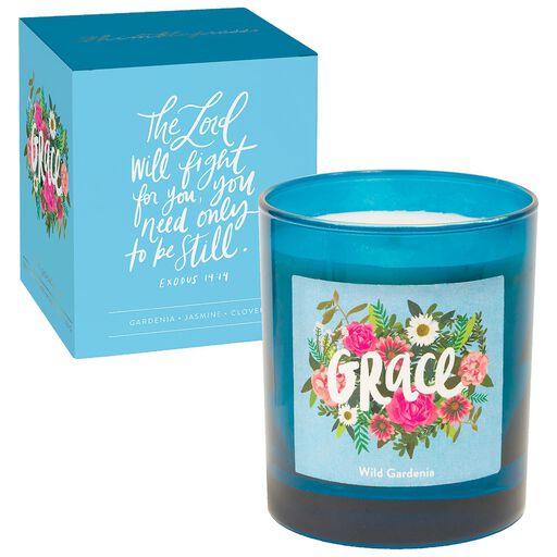 Grace Wild Gardenia Scented Jar Candle 8 Oz