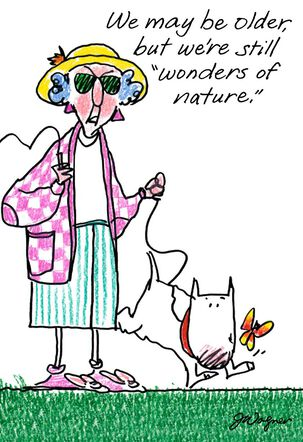 Maxine™ Wonders of Nature Funny Birthday Card