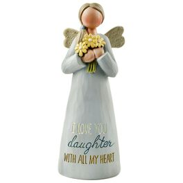 Love You Daughter Angel Figurine, , large