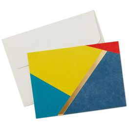 Modern Shapes Blank Note Cards, Box of 10, , large