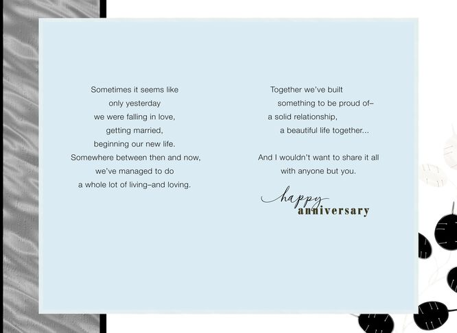 Black foil pattern 25th anniversary card for husband greeting black foil pattern 25th anniversary card for husband m4hsunfo