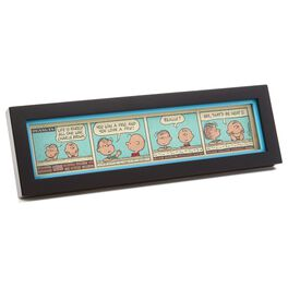 Charlie Brown and Linus Framed Comic Strip, , large