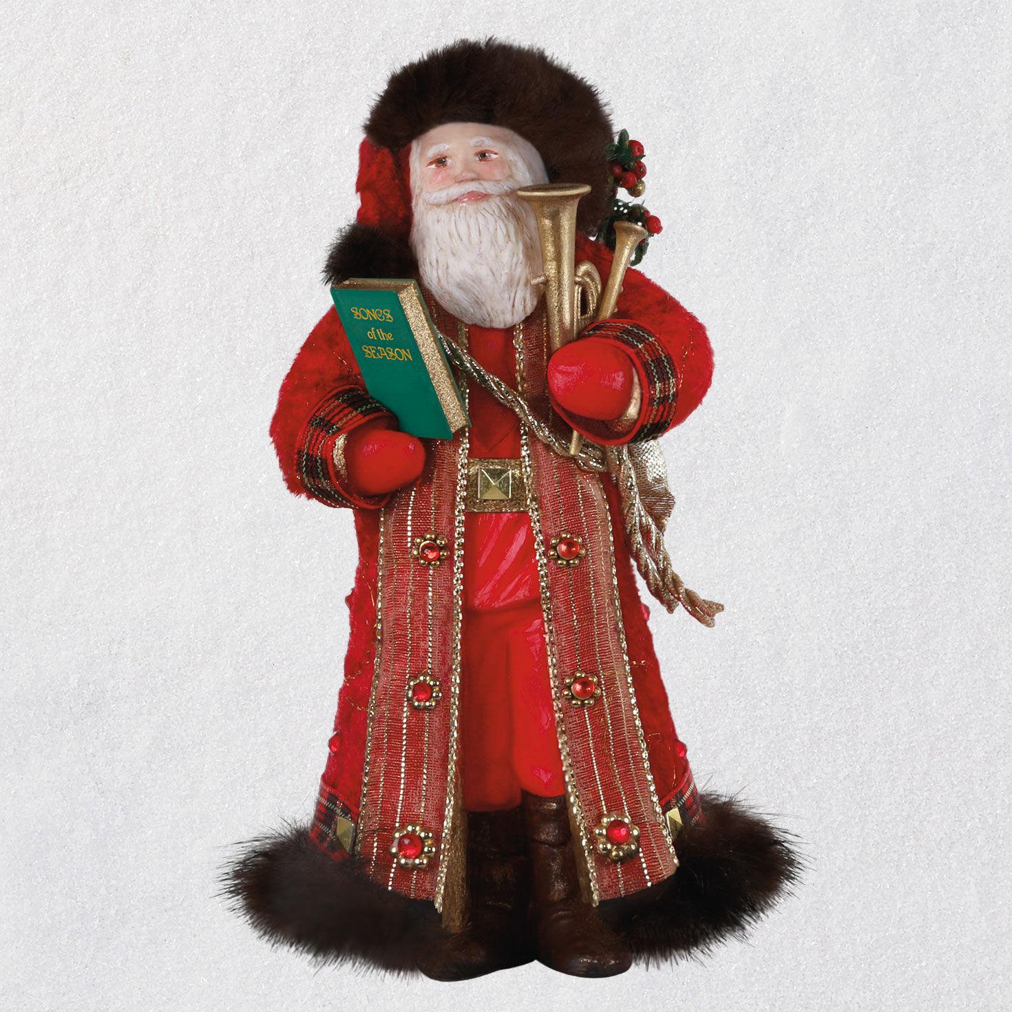 Father Christmas Ornament   Keepsake Ornaments   Hallmark