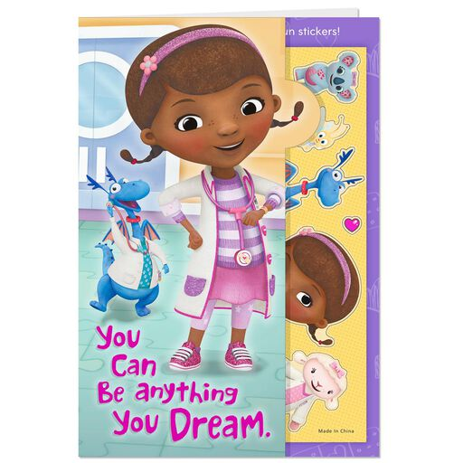 Doc Mcstuffins Super Awesome Kid Birthday Card Greeting Cards