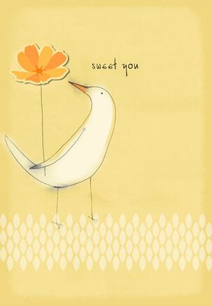 Sweet You Thank You Card