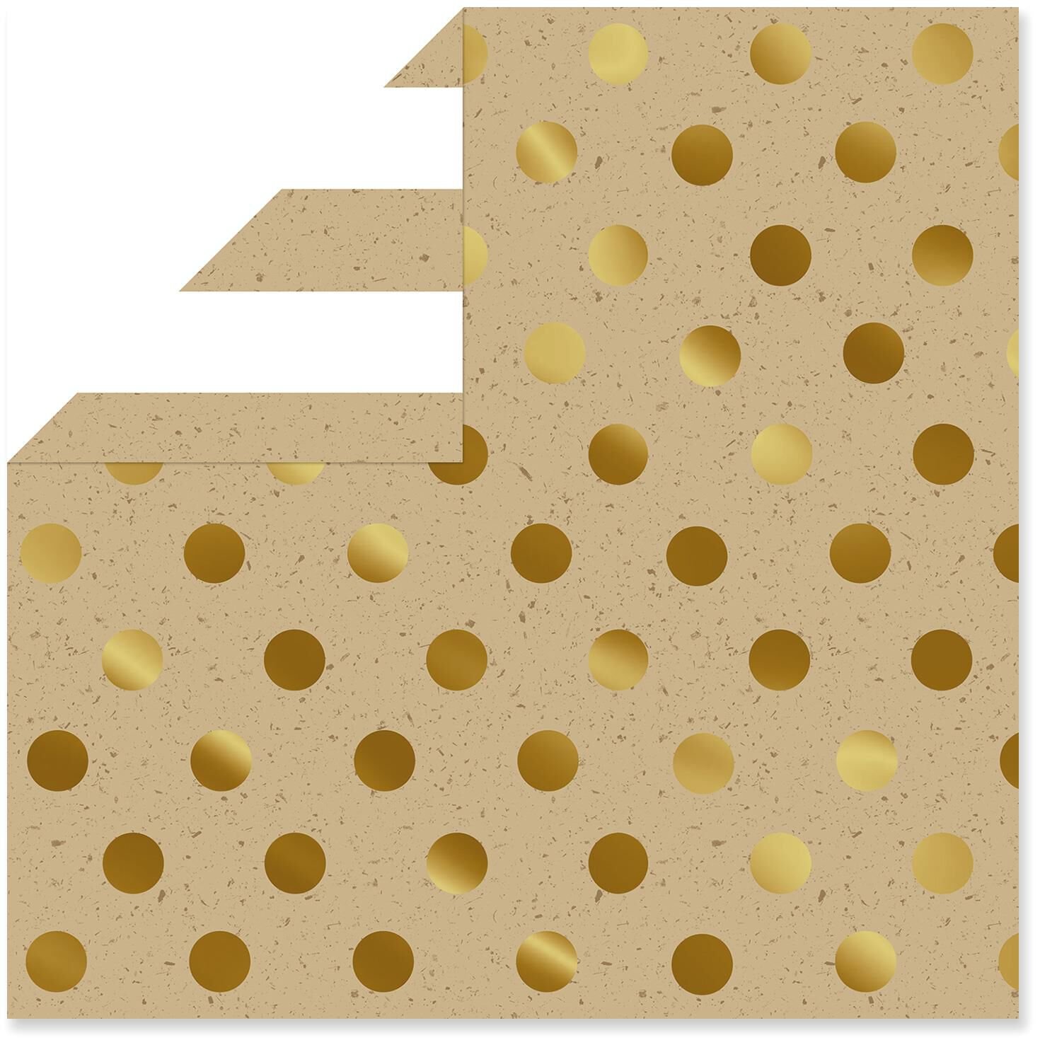 Kraft Reversible Christmas Wrapping Paper Roll, 45 sq. ft ...