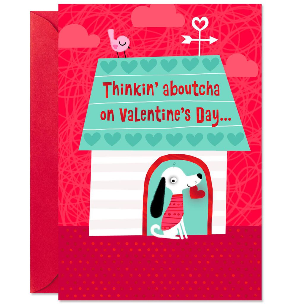 Thinkin Aboutcha Valentine S Day Cards For Kids Pack Of 6 Boxed