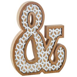 Wooden Ampersand Decoration, , large