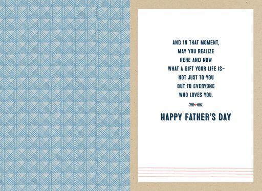 You Are a Gift Father's Day Card,