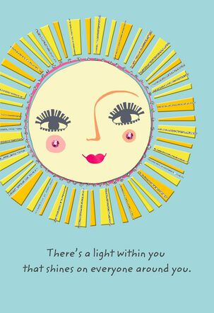 Light Within You Birthday Card