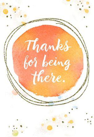 I Appreciate You Thank You Card