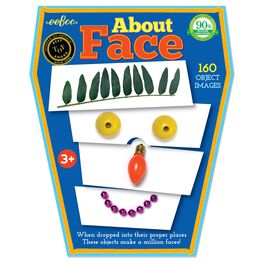 About Face Card Game by eeBoo, , large