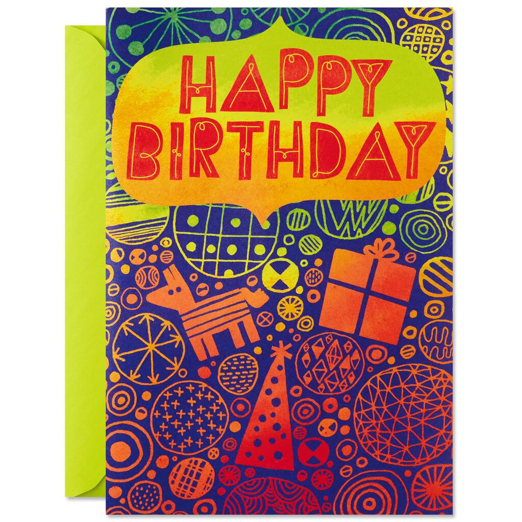 Cake Surprise Pop Up Musical Birthday Card Greeting Cards Hallmark