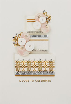 Every Happiness Wedding Card