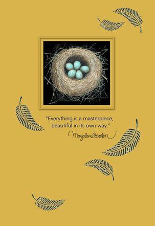 Everything is a Masterpiece Marjolein Bastin Encouragement Card
