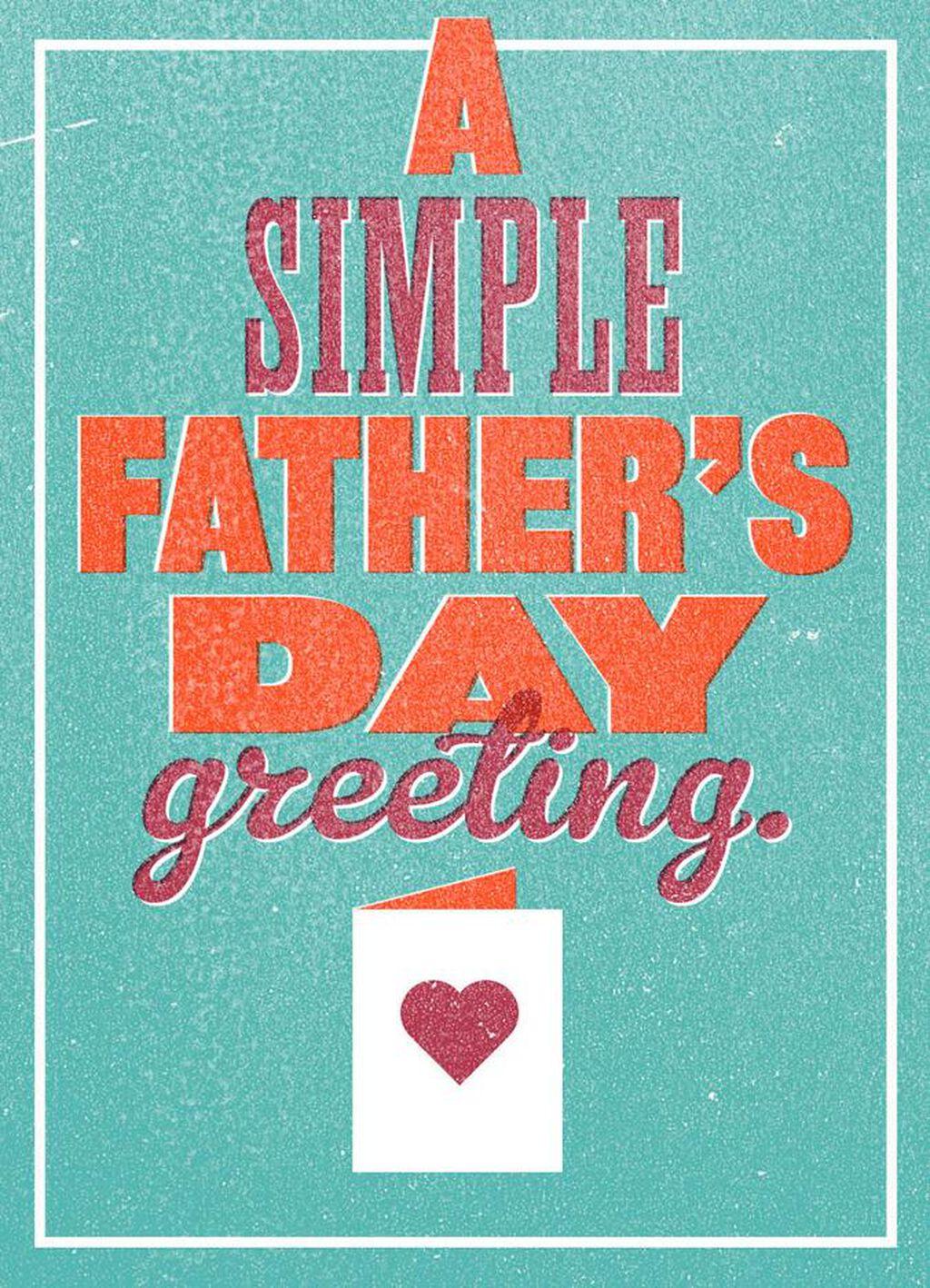 a simple father s day card hallmark
