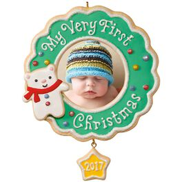 My Very First Christmas Picture Frame Ornament, , large