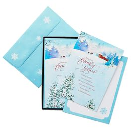From Our Family to Yours Christmas Cards, Box of 16, , large
