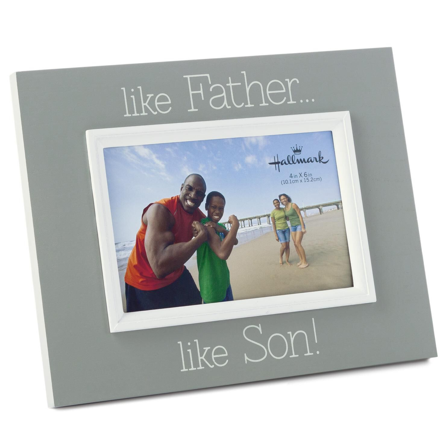 father son wood malden picture frame 4x6 picture frames hallmark