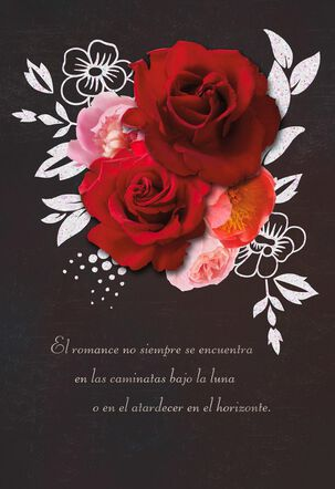 El Romance Valentine's Day Card
