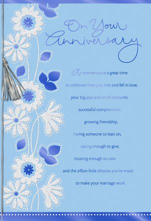 Dreams to Plan For Anniversary Card
