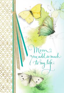 Marjolein Bastin Butterflies and Blooms Mother's Day Card,