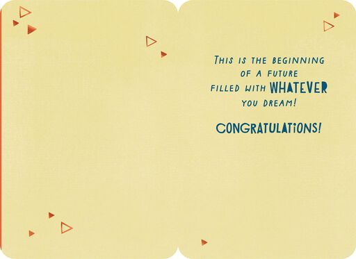 Congratulations cards congrats cards hallmark let the adventure begin congratulations card m4hsunfo Images