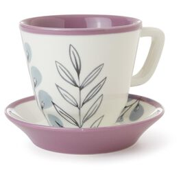 Leaves Teacup and Saucer Set, , large