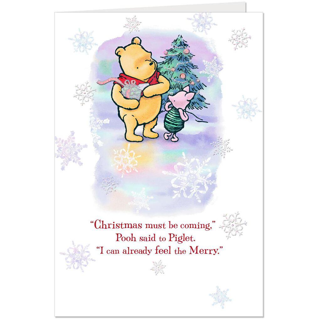 Disney Winnie the Pooh A Season of Merry Christmas Card - Greeting ...
