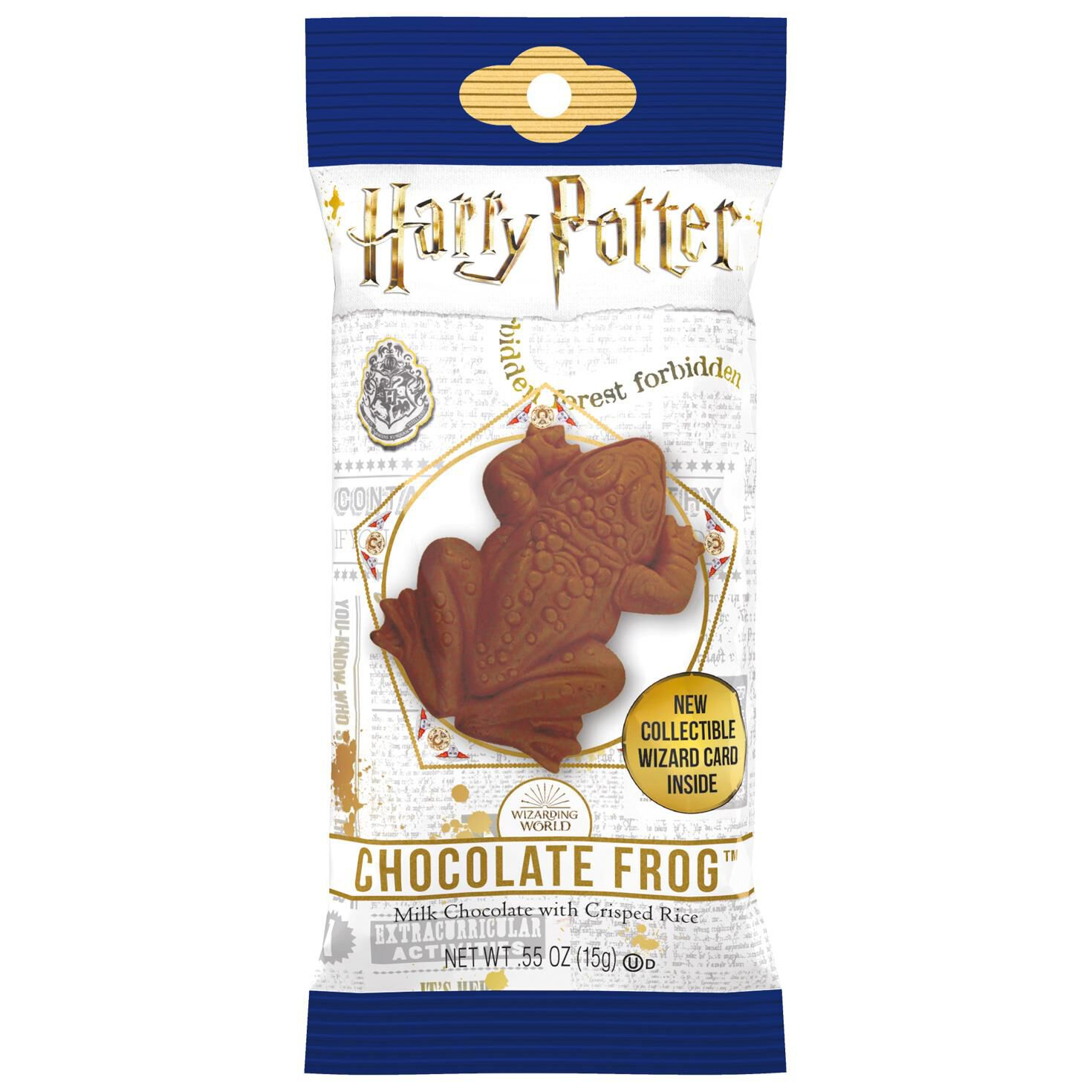 image about Harry Potter Chocolate Frog Cards Printable named Jelly Tummy Harry Potter Chocolate Frog, 0.5 oz.
