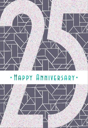 Guided by Love 25th Anniversary Card