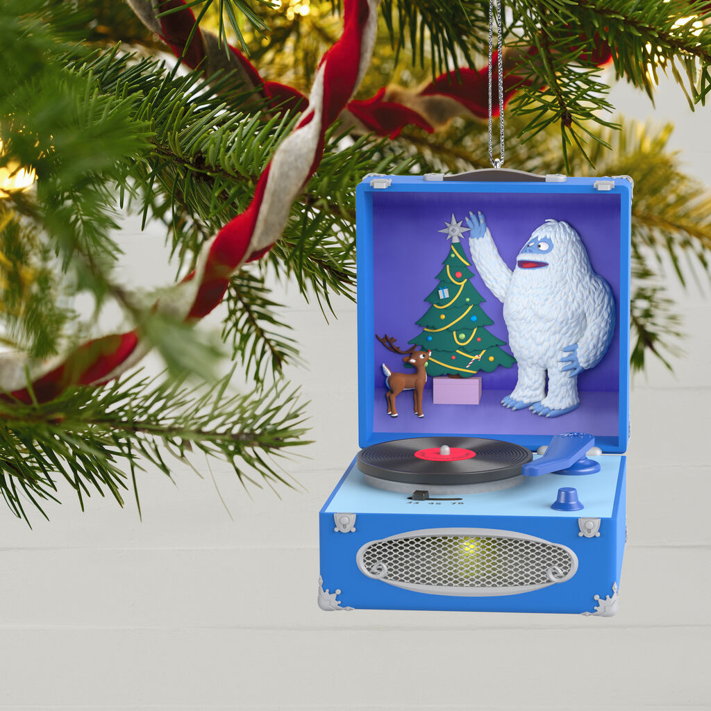 A Holly Jolly Christmas.Rudolph The Red Nosed Reindeer A Holly Jolly Christmas Musical Ornament With Light