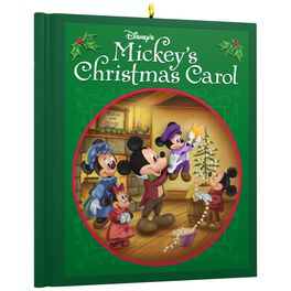 Disney Mickey Mouse Mickey's Christmas Carol Ornament, , large
