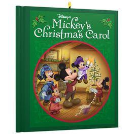 Disney Mickey Mouse Mickey's Christmas Carol Ornament, , large