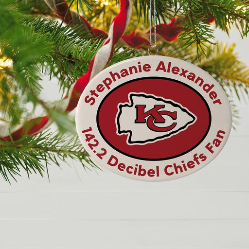 fd3956a08 ... NFL Football Kansas City Chiefs Ceramic Personalized Ornament