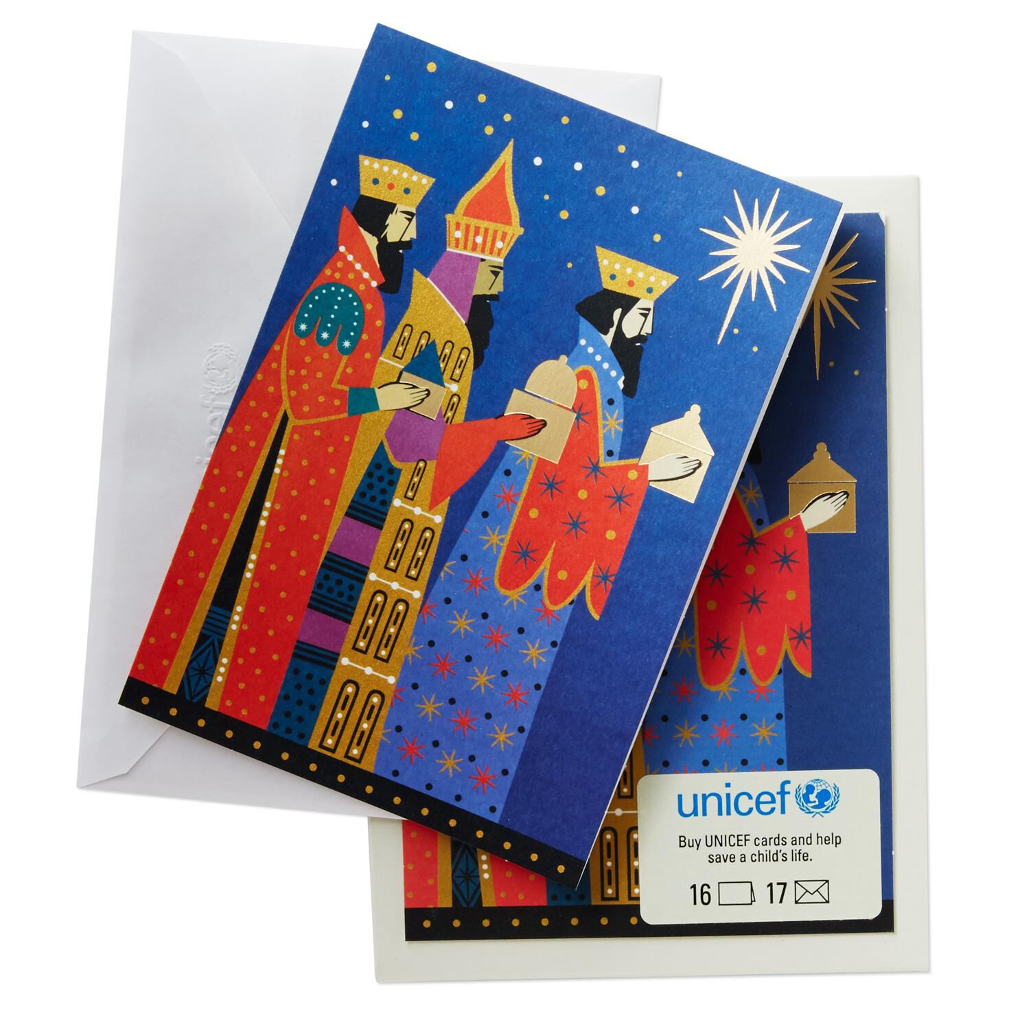 UNICEF Three Kings Christmas Cards, Box of 16 - Boxed Cards - Hallmark