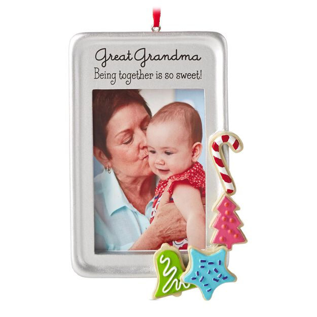great grandma frame hallmark gift ornament