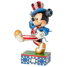 Jim Shore® Star-Spangled Mickey Mouse Figurine, , large