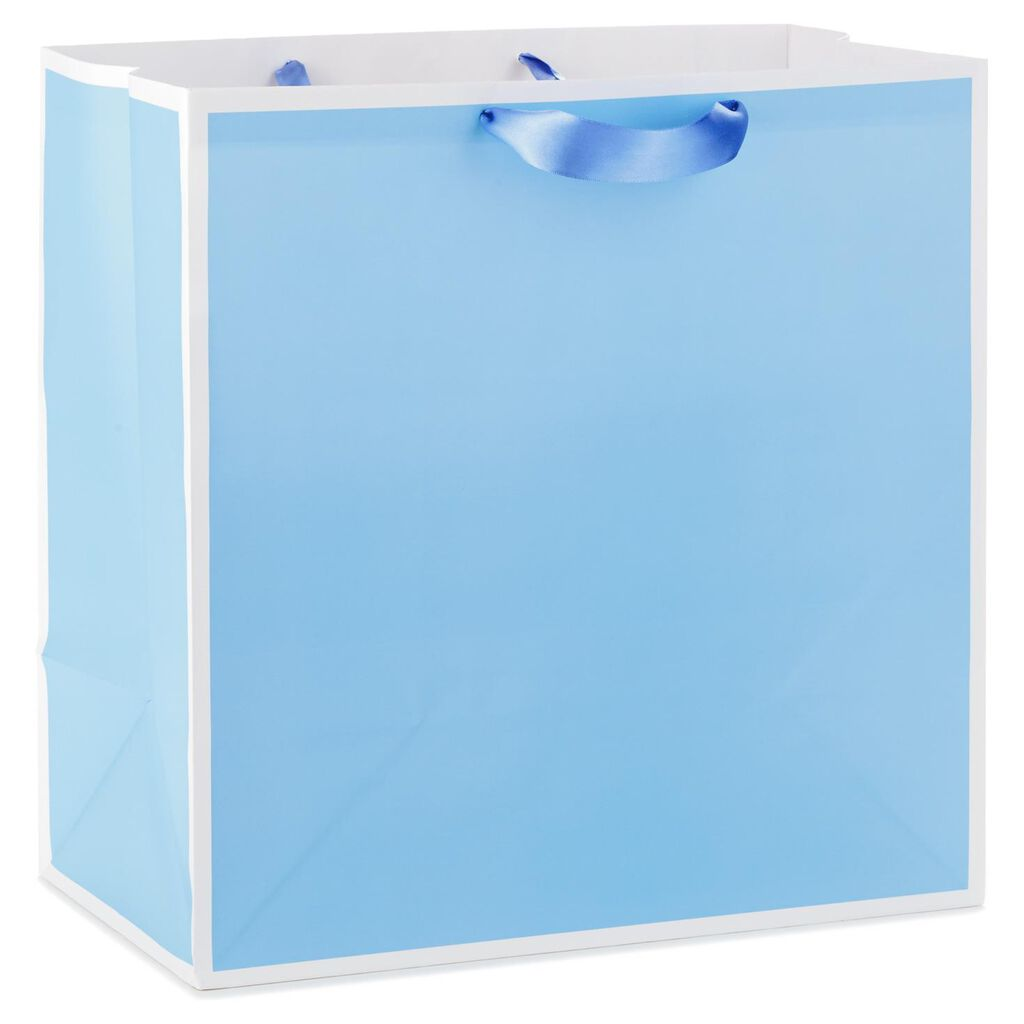 Periwinkle Extra Large Gift Bag 15 5