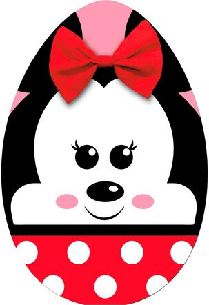 Minnie Mouse Egg Easter Card